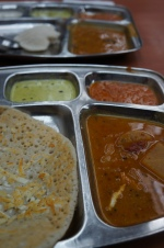 my last dinner - indian Uttapam
